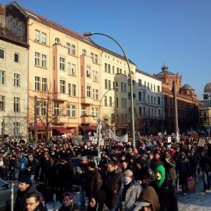 11.02.2011. - Demonstration gegen ACTA, Oranienburger Str., Berlin