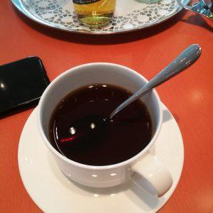 Nicht so leckerer Kaffee an ausgesuchtem Orte.