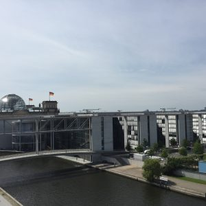 Der Bundestag im Sommer 2017